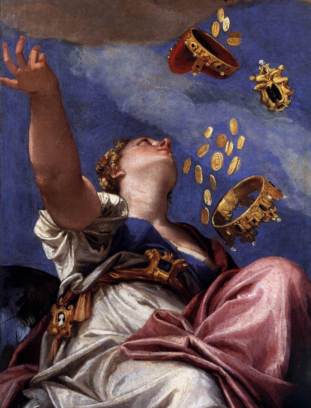 Paolo Veronese, Giunone versa doni su Venezia (dettaglio), 1553-1556, Venezia, Palazzo Ducale