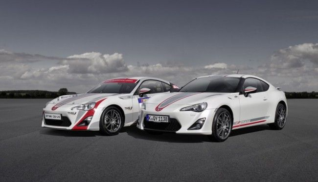 The GT 86 or as we know them here in the United states as the Scion FR-S or the Subaru BRZ will make a great racer for a series.