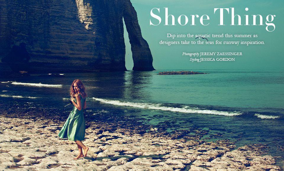 Summer 2012 Fashion Shoot: Shore Thing - Magazine | Savoir Flair