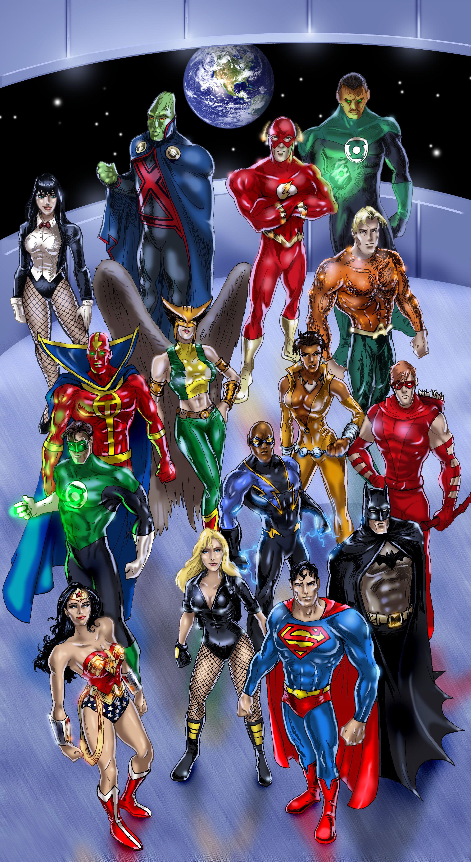 Justice League Of America 2008 Justice League Of America Justice League Justice League Characters
