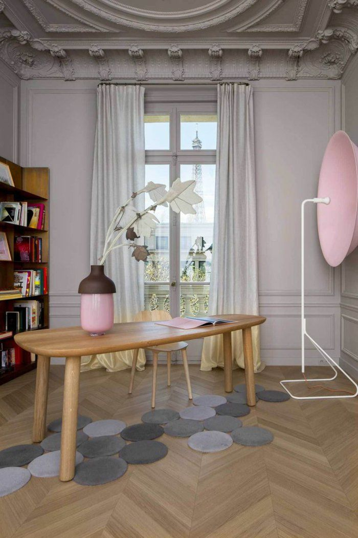 Comment Decorer Le Salon Avec Moulure Décorative Pour Le Plafond Et Pour  Les Murs
