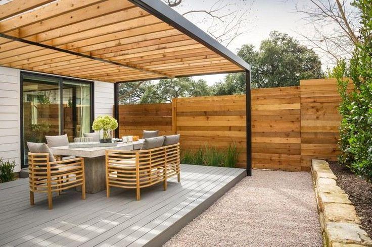 Protection solaire 55 idées pour la terrasse extérieur Pergolas