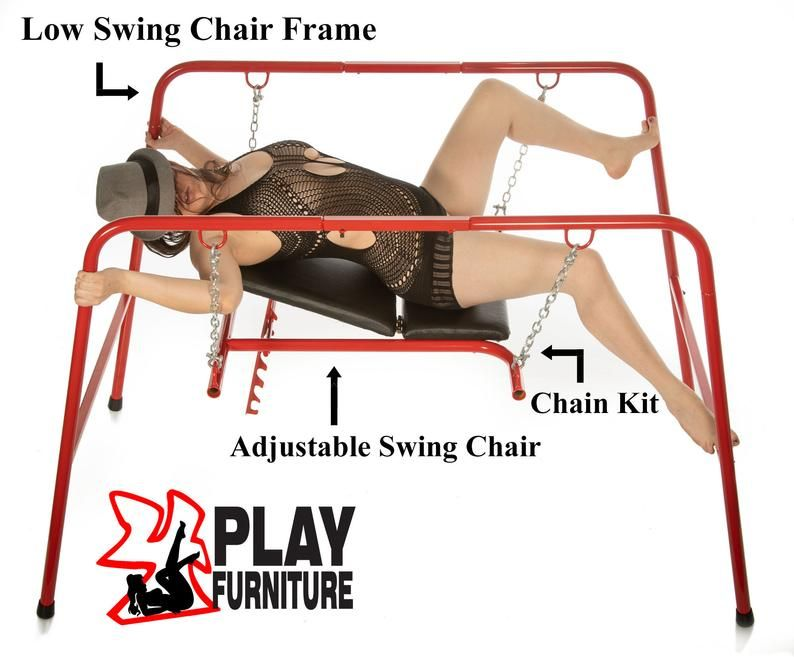 This Swing Frame And Adjustable Swing Chair Make The -1808