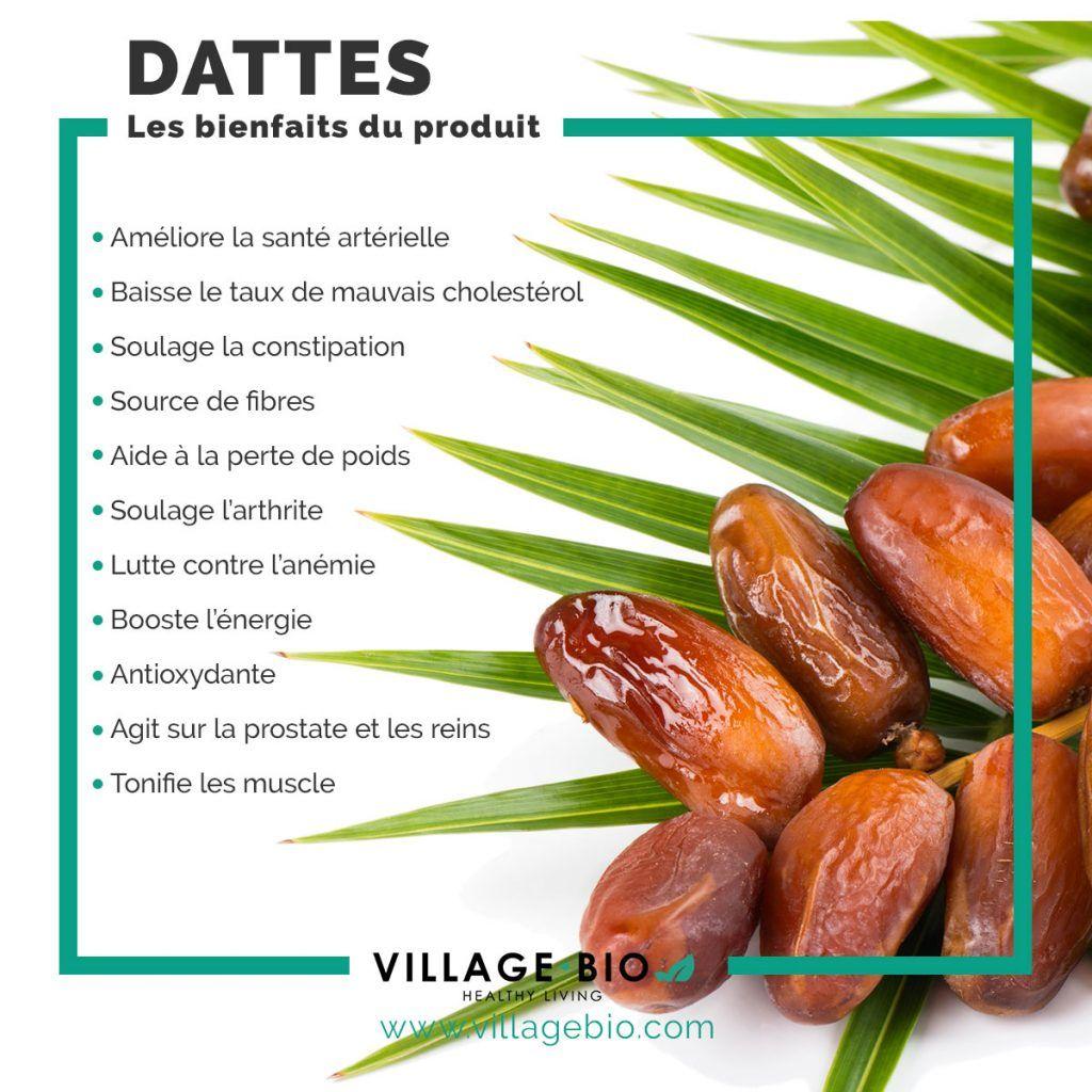 Boules d'énergie aux dattes et noix. | Healthy Living by VillageBio #healthyliving