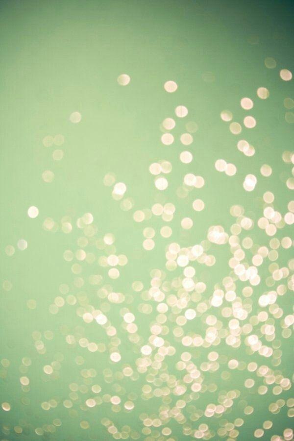 Sparkle Nuances De Vert Fond Vert Jeux De Lumiere