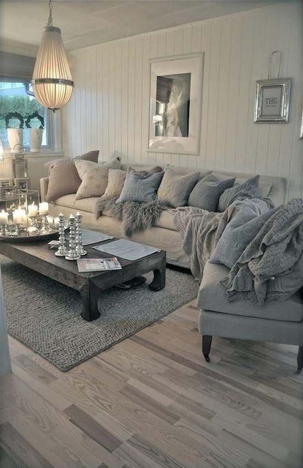 Shabby Chic Farmhouse Living Room Ideas