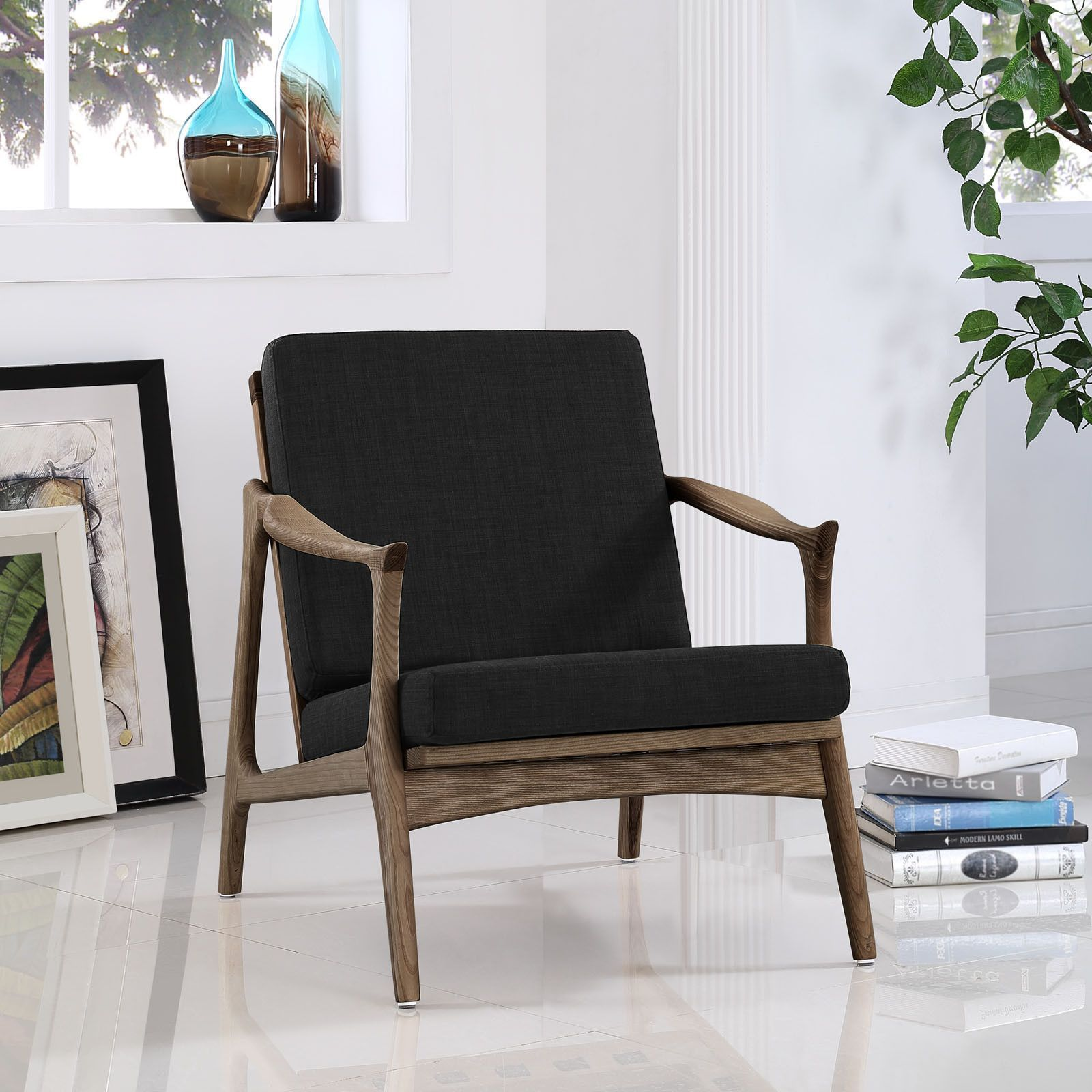 Best Mid Century Modern Style Arm Chair Upholstered Arm Chair 640 x 480
