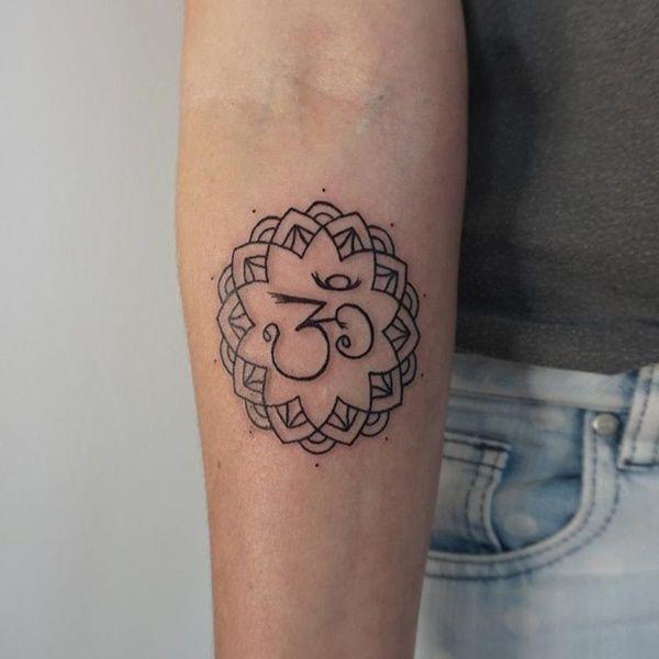 30 Wonderful Mandala Tattoo Ideas Tattoo Common Tattoos And