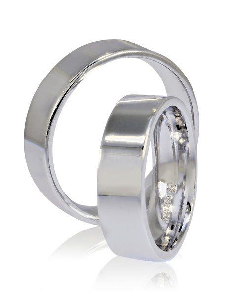 Βέρες Γάμου ΣΤΕΡΓΙΑΔΗ Ασημένιες σε Λευκό Χρώμα Αναφορά 012035 Βέρες γάμου  από Ασήμι 925 σε χρώμα deeeba4d3e9