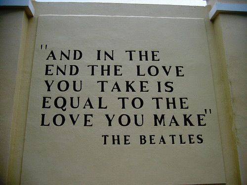 The End by The Beatles