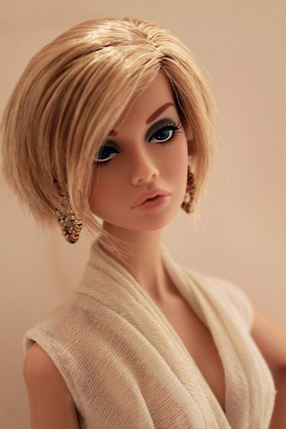 Doll City Barbie Poppy Parker Fashion Royalty Pricheski Modnye Kukly Kukly Barbi