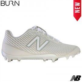 fd40955d40534 New Balance Burn X Low - White   Lacrosse Footwear For Men & Women ...