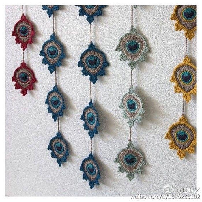 Pin de mlaura en Crochet & guirnaldas & garlands   Pinterest