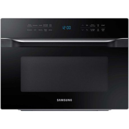 Samsung 1 2 Cu Ft Countertop Convection Microwave In 2020 Microwave Microwave Oven Black Microwave