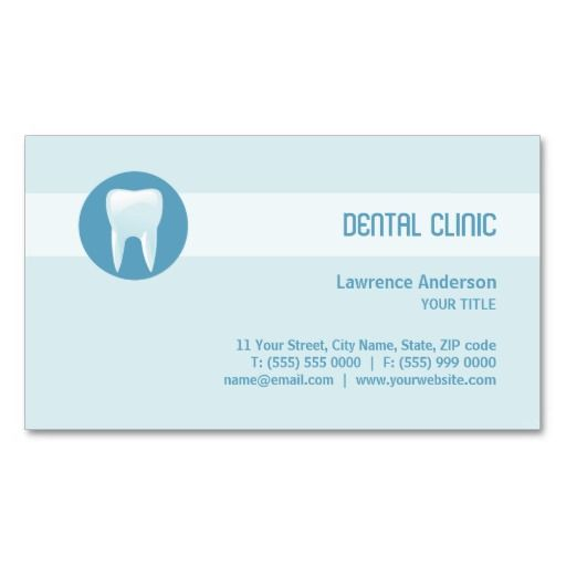Dental Clinic / Dentist business card | Cards, Branding and ...