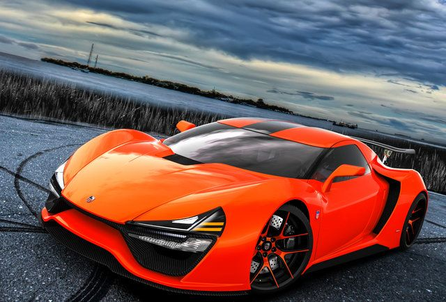 The 2 000 Hp American Made Supercar Trion Super Cars New Sports Cars