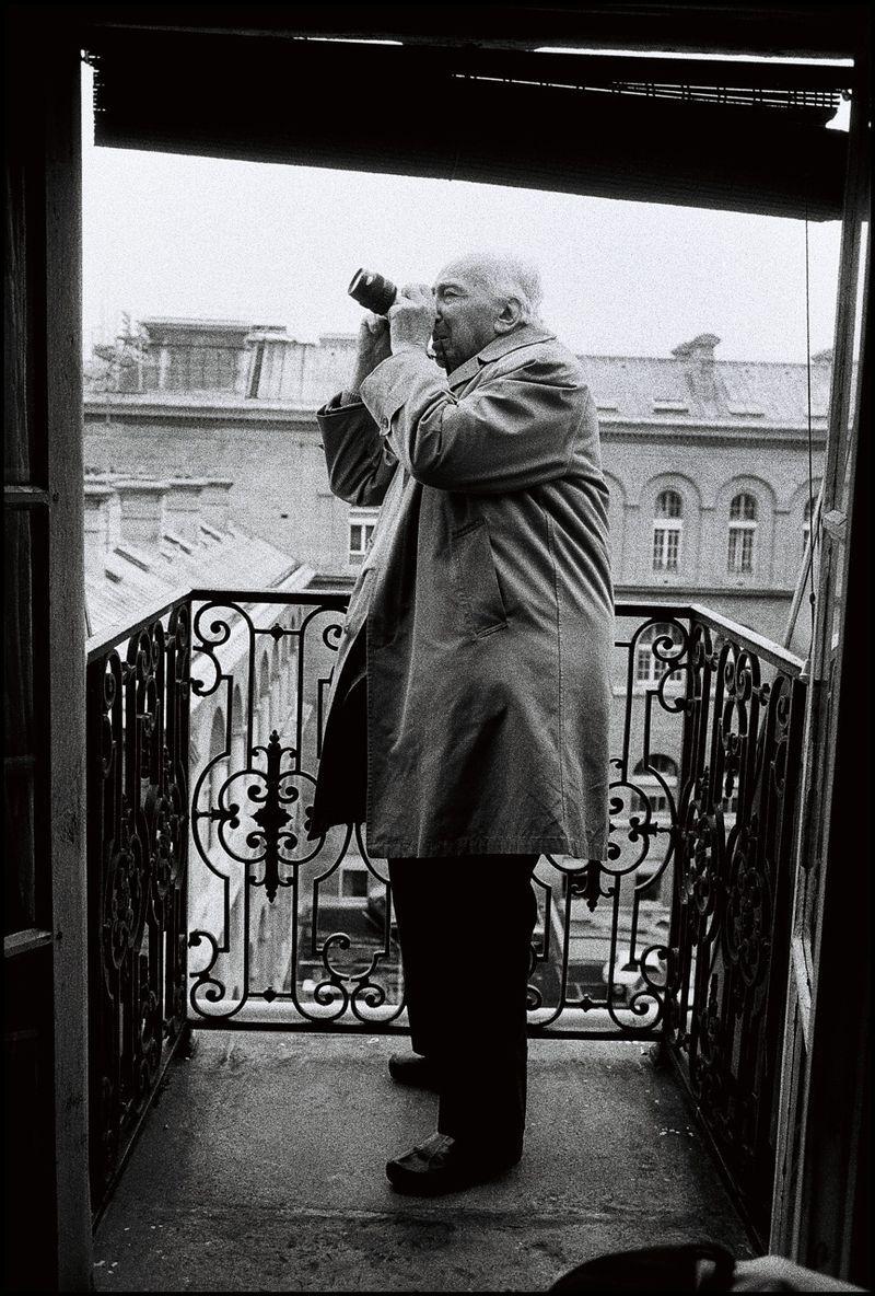 André Kertész Par Peter Turnley Paris C1980 Photographes En