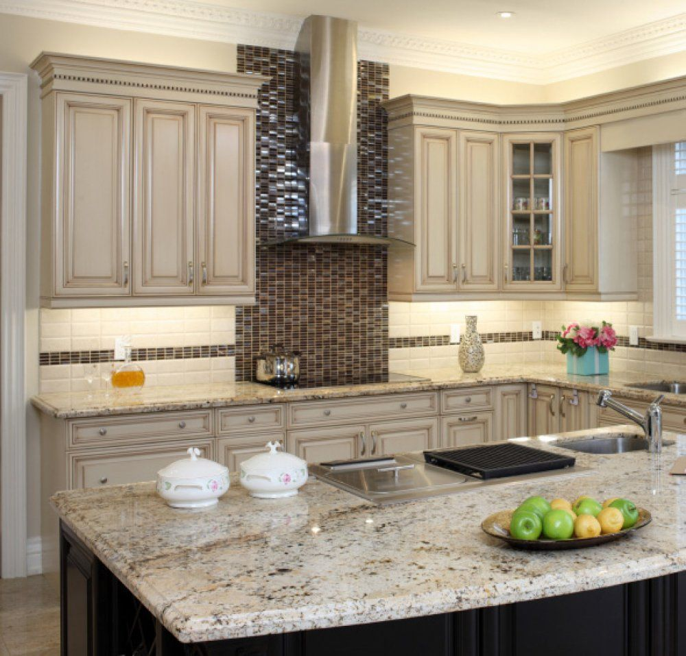 Painting These Kitchen Cabinets Antique White Was Great Idea And Painted  Cabinet Ideas Makeover Reveal The Polka