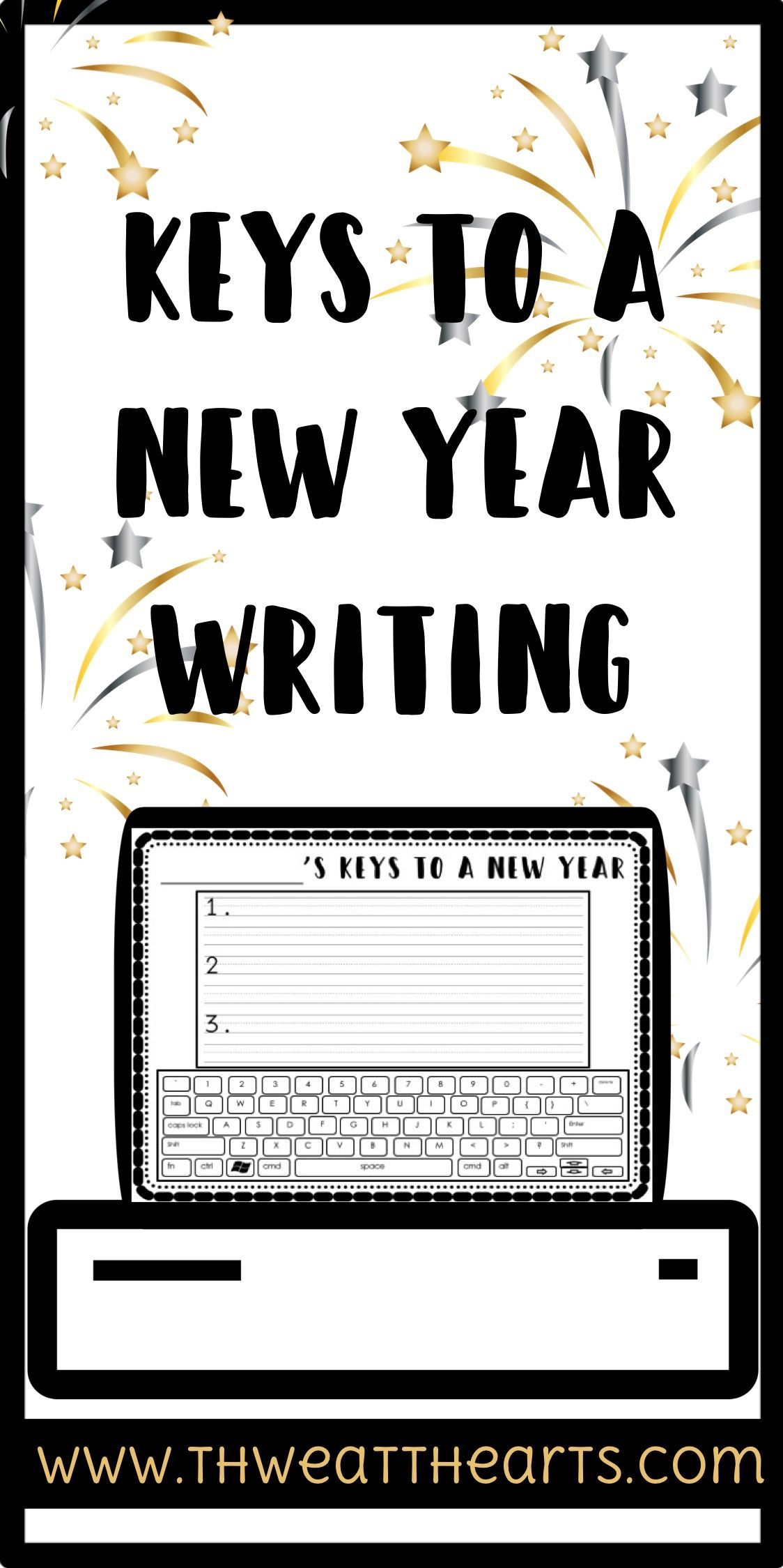 Keys To A New Year Writing