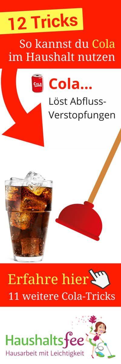 12 Möglichkeiten, Cola im Haushalt zu nutzen