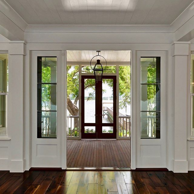 Stunning Details Of Shiplap And Hardwood Floors Leading