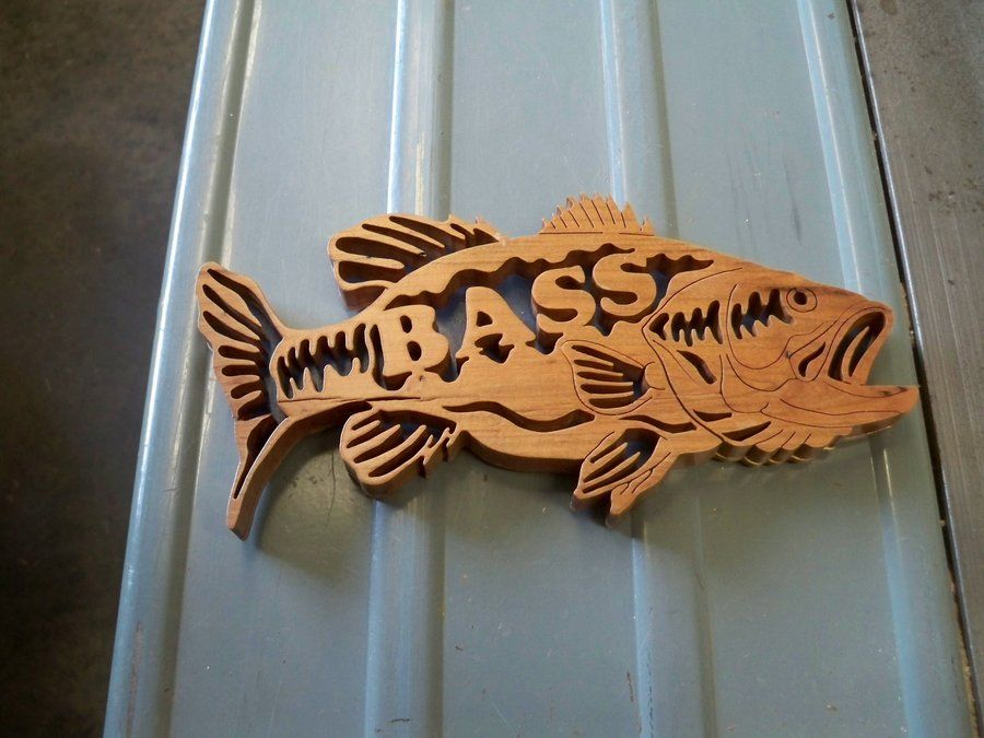 Projects For Scroll Saw Bass Scroll Saw Projects
