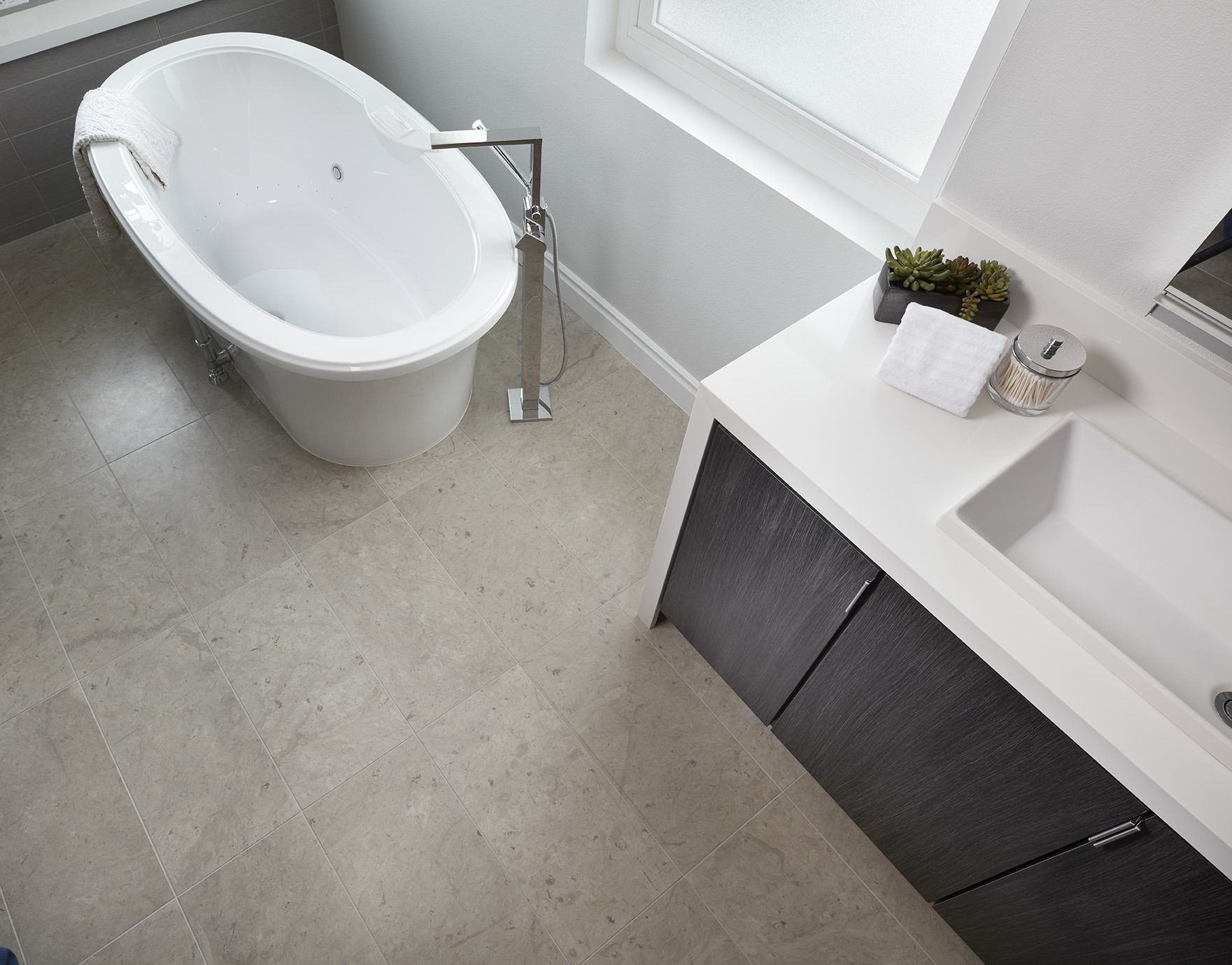 Simply Said Bathroom Bliss Chella Grey Limestone Floor Https