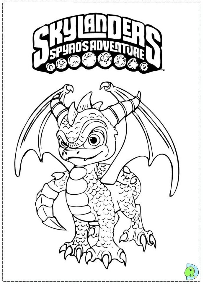skylanders coloring pages dejau printable - photo#5