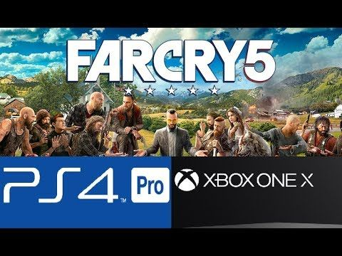 Far Cry 5 Is Being Ps4 Pro Optimized No Xbox One X Dev Kits Have