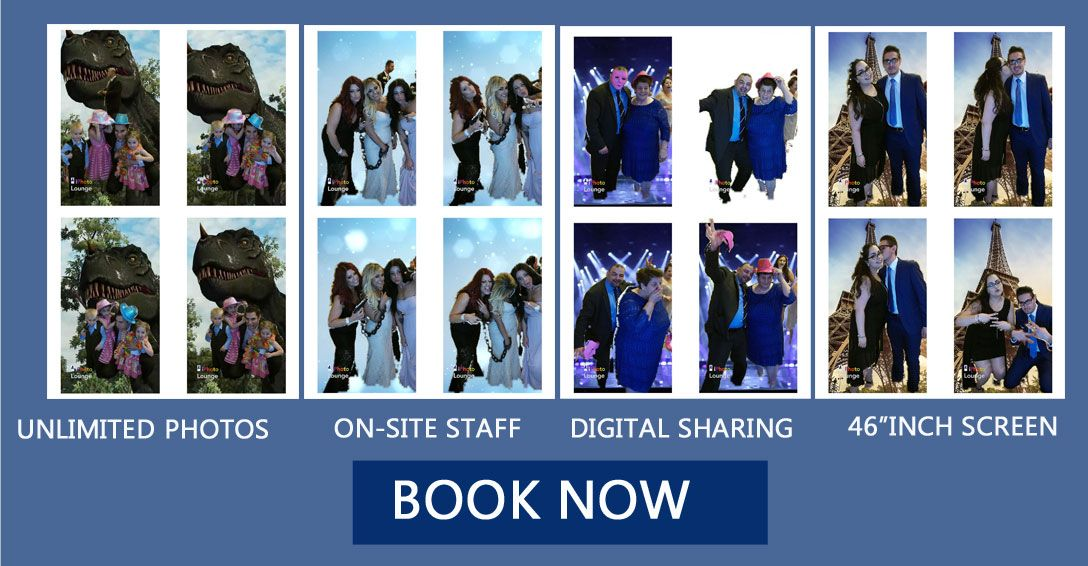 Canada's premiere interactive photo booth service catering