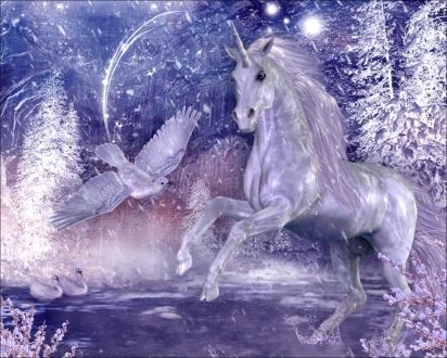Unicorn - Free Unicorn, Unicorn, Fantasy, Purple, Magic, Free Fantasy, Fantasy Magic, Fantasy Unicorn, Purple Fantasy, Purple Unicorn