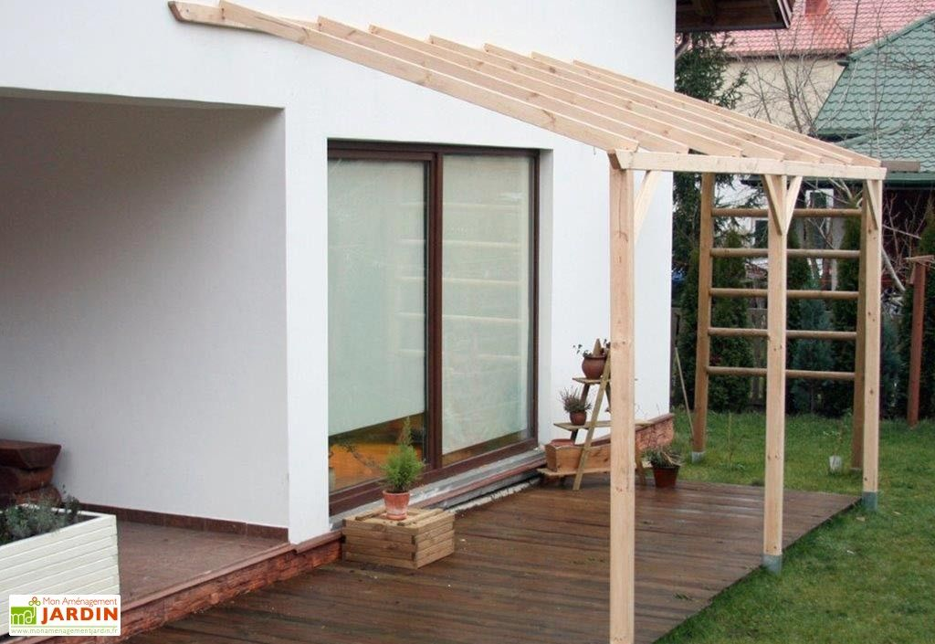 Carport Bois Adossable Autoclave Monopente 3x5m Outdoor Decor Outdoor Structures Building