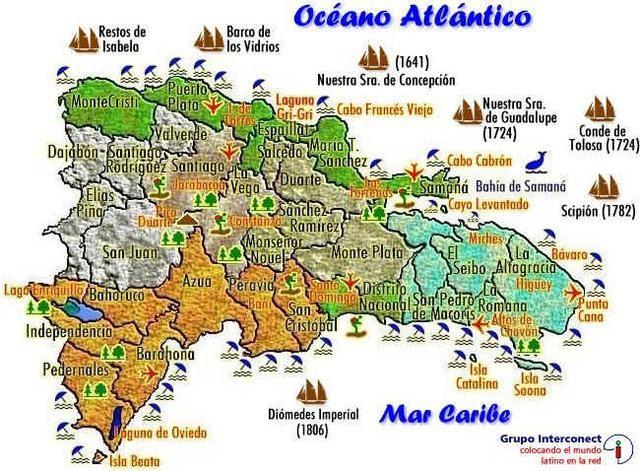 Mapa De Mapa Republica Dominicana Mapa Mundi Adimapas Com