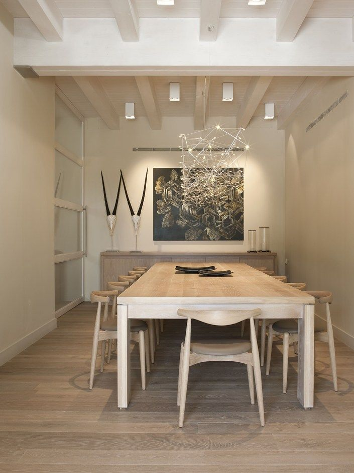 Oak parquet PRINCIPESSA GINEVRA by BOTTEGA ARTIGIANA design Silvia - Salle A Manger Parquet