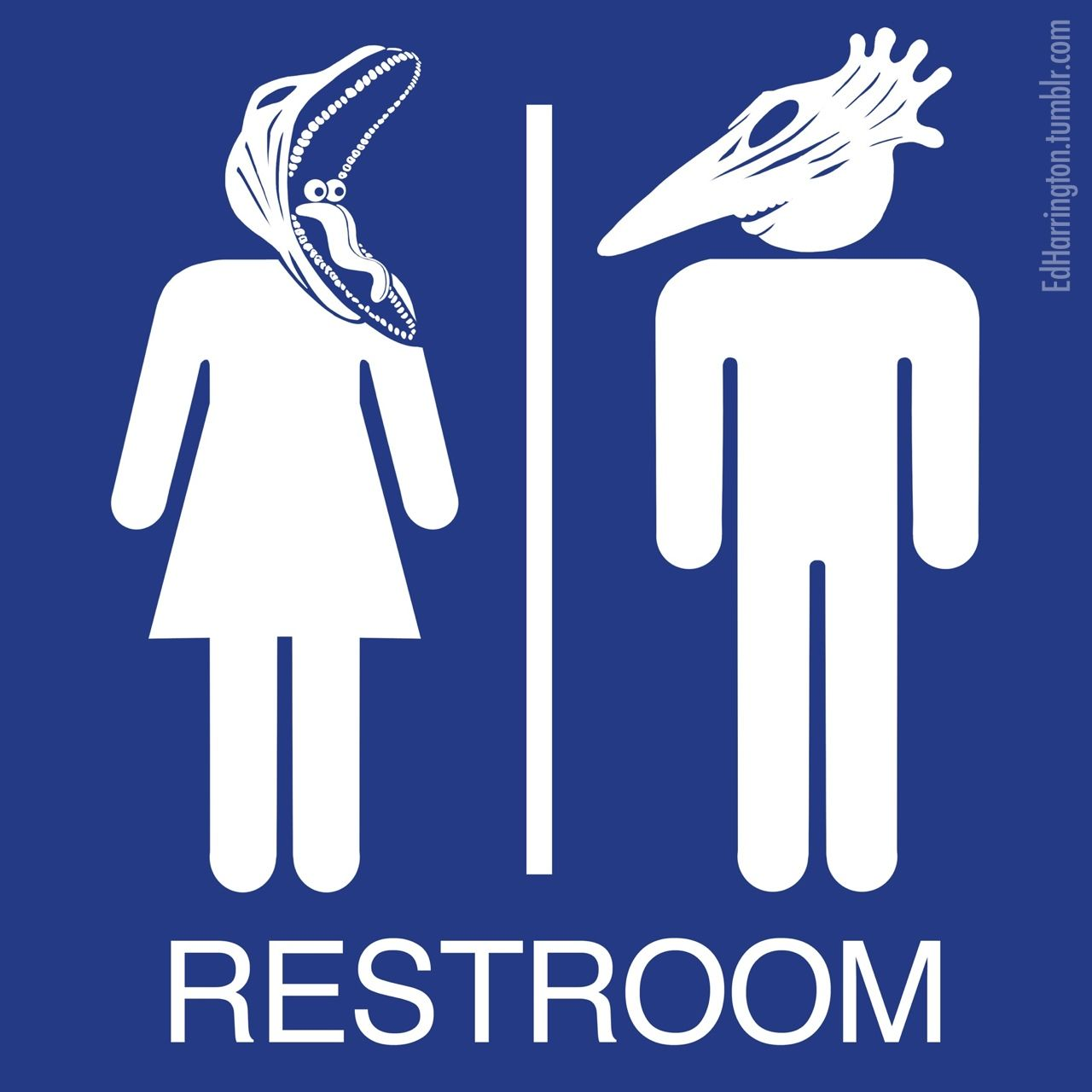 Bathroom Signs Tumblr lol, i want a print of this for the bathroom. xd @lilliemonster
