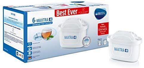 Brita Maxtra Water Filter Cartridges White Pack Of 6 Uk