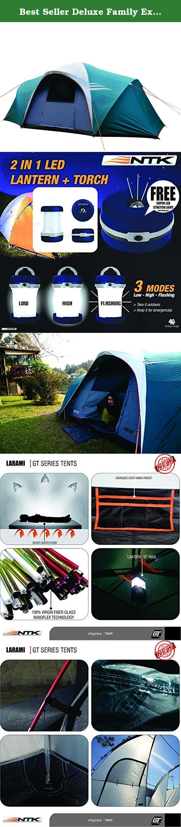Best Seller Deluxe Family Extra Large Car Hunting 3 Season C&ing tent NTK LARAMI GT up & Best Seller Deluxe Family Extra Large Car Hunting 3 Season Camping ...