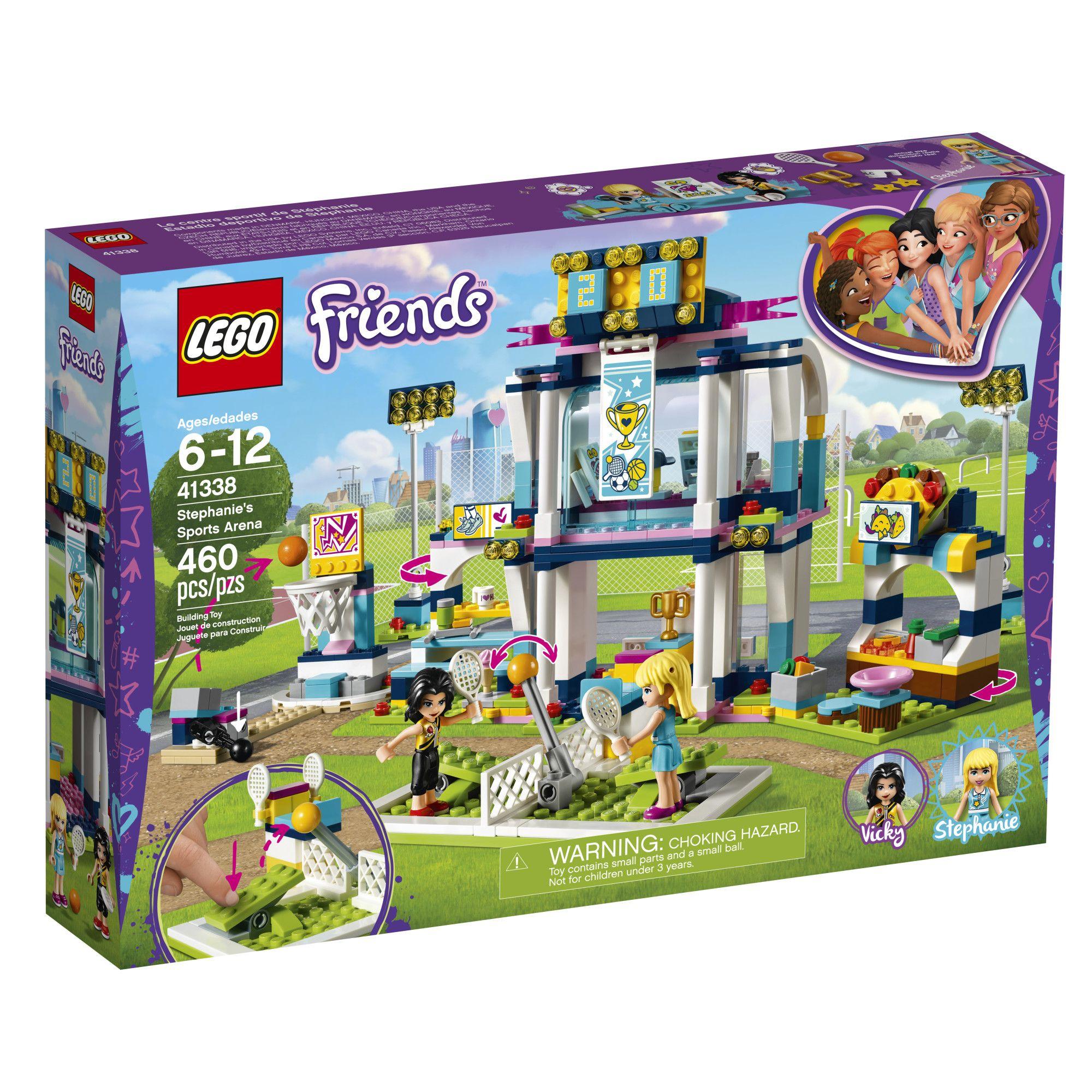 Lego Friends Stephanie S Sports Arena 41338 Lego Friends Lego Friends Sets Lego