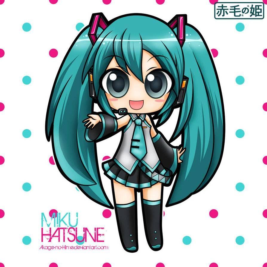 Resultado de imagen para miku hatsune chibi | chibi | Pinterest ...