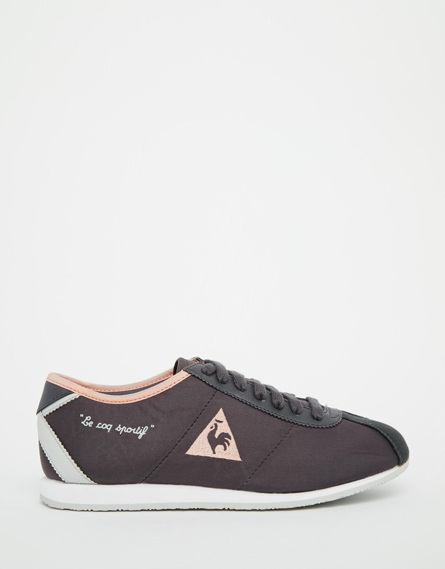 Image 1 of Le Coq Sportif Wendon Classic Charcoal Sneakers | wishlist |  Pinterest