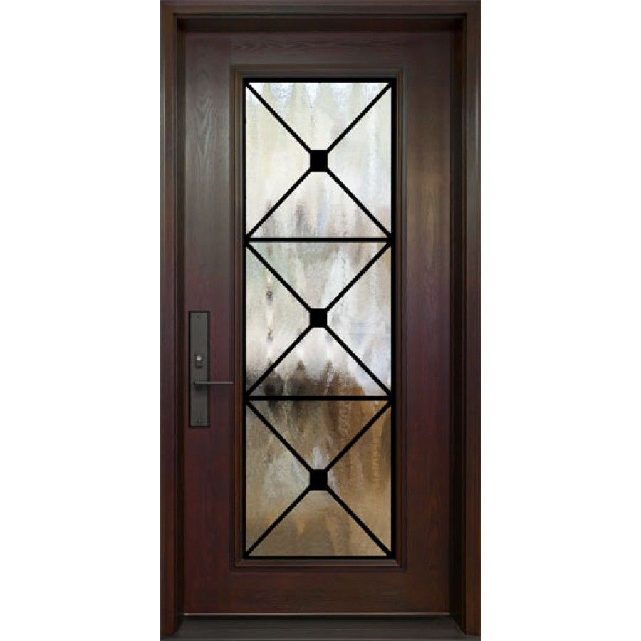 Single Entry Door Full Size Manchester Wrought Iron Design Ferrumtech Collection Single Entry Doors Wrought Iron Entry Doors Iron Entry Doors
