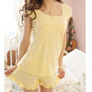 6be2e6a06900 yellow pajamas women s