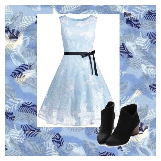 """""""Blue"""" by pipermiller ❤ liked on Polyvore"""