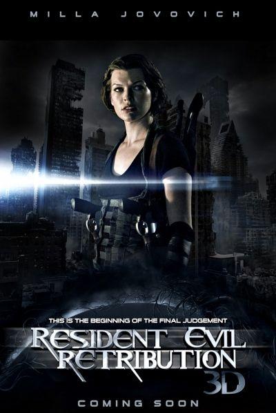 Resident Evil 5 Venganza 2012 Resident Evil Poster De