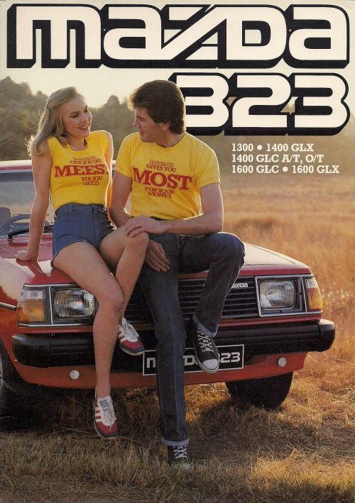 1979 Mazda 323 (South Africa)