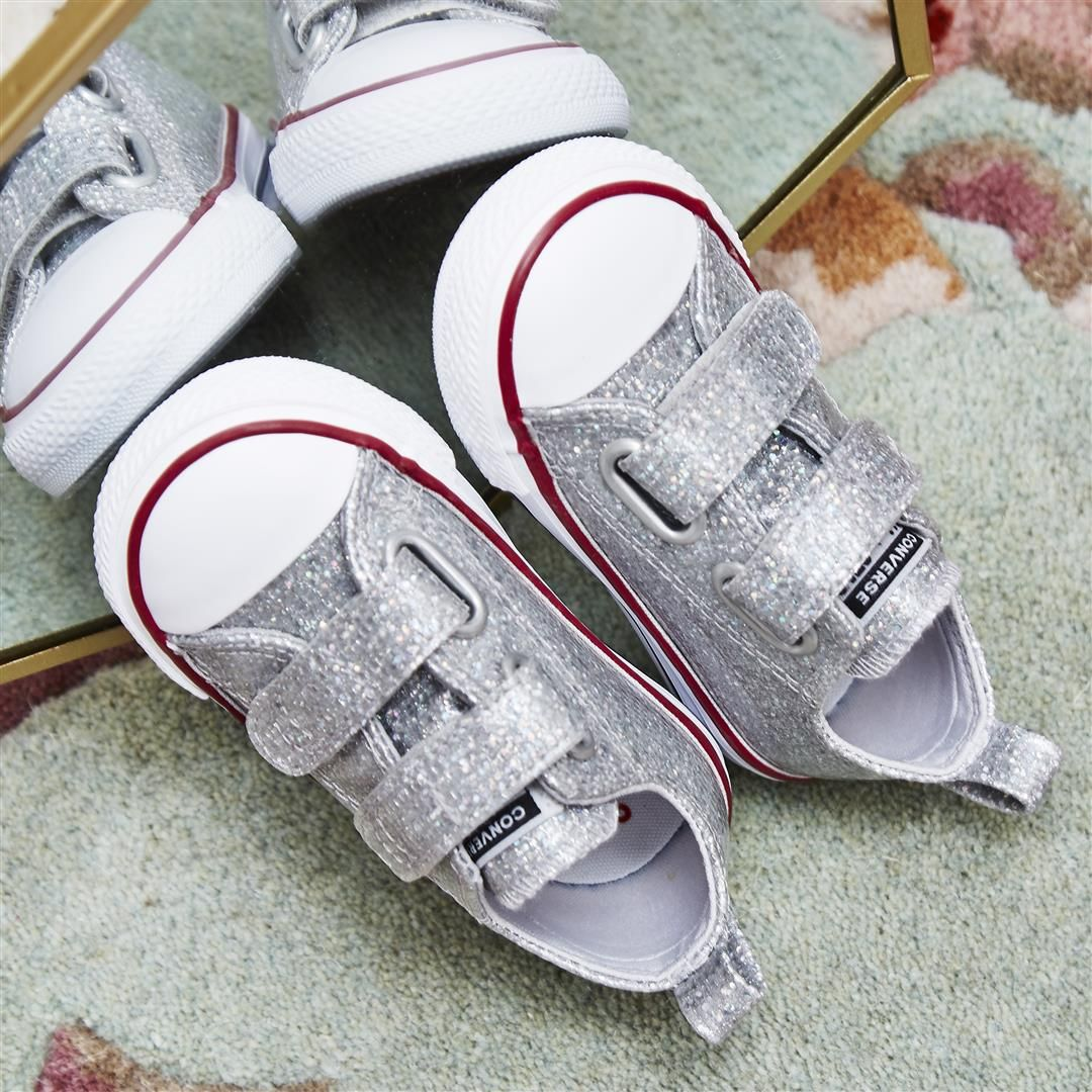 All Star 2vlace Trainers | Converse all star, Glitter