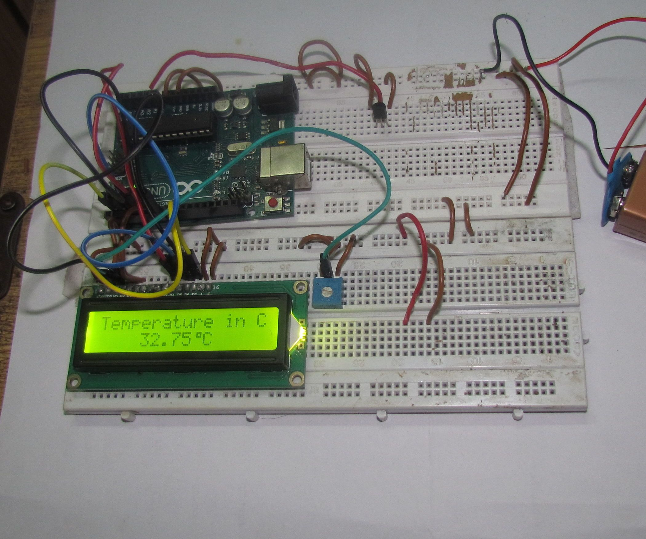 In This Project Explain To Digital Clock System Using By 8 Code Lock 8051 Microcontroller At89c51 With Arduino Based Temperature Sensor