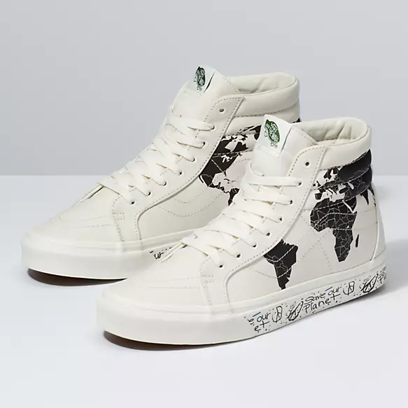 Save Our Planet X Vans Sk8 Hi Reissue | Shop Classic Shoes