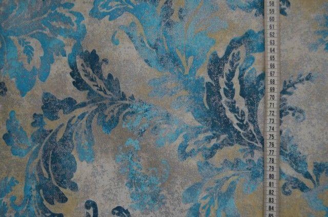 Weiteres - Dekoserie Luxury Dinasty türkis - ein Designerstück von stoffe-tippel bei DaWanda