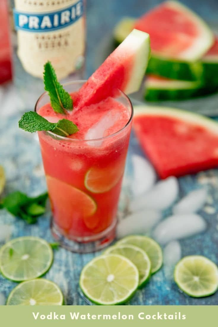Vodka Watermelon Cocktails - Summer Ideas